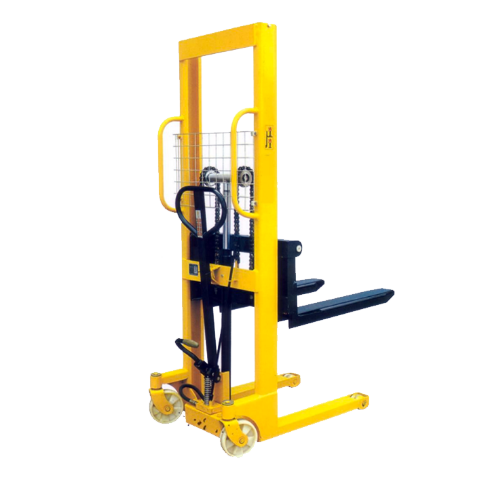 Hydraulic Pallet Lifters : Hydraulic lifting equipment stacker pallet